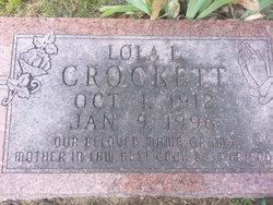 Lola L. <i>Hargis</i> Crockett