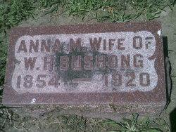 Anna M. Annie <i>Throne</i> Bushong