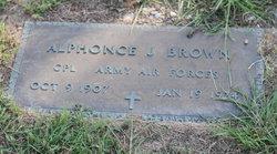Alphonce Joseph Brown, Sr