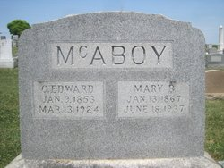C. Edward McAboy