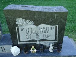 Betty June <i>Smith</i> Singletary