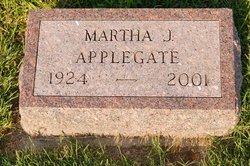 Martha J <i>Sims</i> Applegate