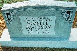 Mozelle Davidson