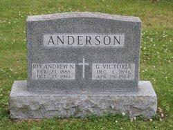 Rev Andrew N Anderson