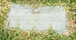 Estella Ora <i>Borton</i> Hackenberger