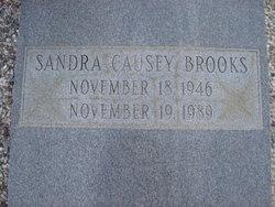 Sandra <i>Causey</i> Brooks