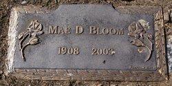 Mae D <i>Wisner</i> Bloom