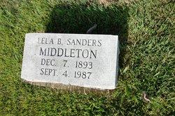 Lela Beatrice <i>Sanders</i> Middleton