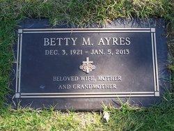 Betty May <i>Stevens</i> Ayres