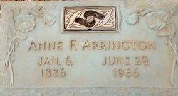 Anne Frances Arrington