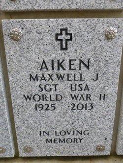Maxwell John Aiken