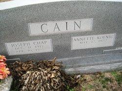 Annette <i>Koenig</i> Cain