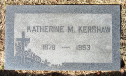 Katherine M Kershaw
