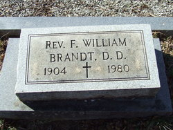 Dr F William Brandt