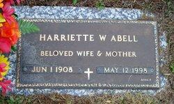 Harriette W. Abell