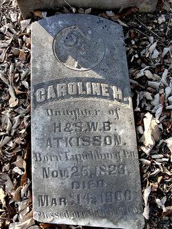 Caroline. H. Atkisson