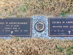 Zelma H Abercrombie