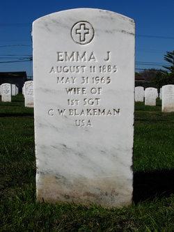 Emma J. Blakeman
