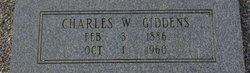 Charles W Charlie Giddens