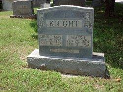 Minnie May <i>Meador</i> Knight