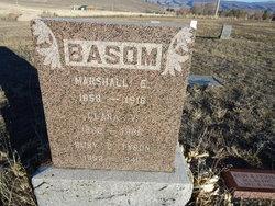 Marshall Edward Basom