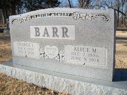 Mary Alice <i>Jarrett</i> Barr