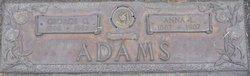 Anna Louise <i>Davis</i> Adams