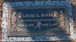 Louise Louella <i>Glenn</i> Baker