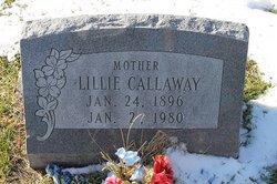 Lillie A <i>Cole</i> Calloway