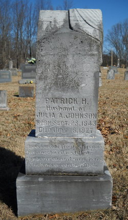 Pvt Patrick Henry Johnson