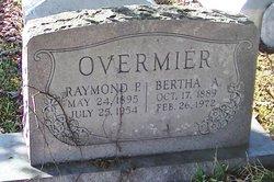 Bertha <i>Aschliman</i> Overmier