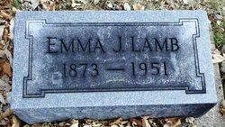 Emma J <i>Wright</i> Lamb