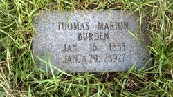 Thomas Marion Tom Burden