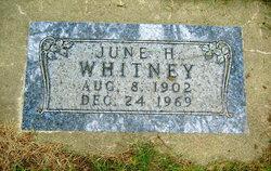 June Hazel Whitney