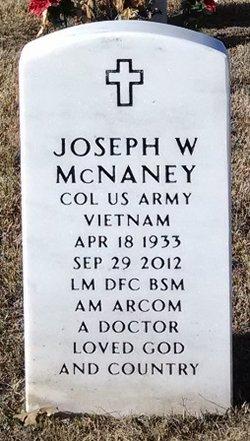Dr Joseph William Doc McNaney, Jr
