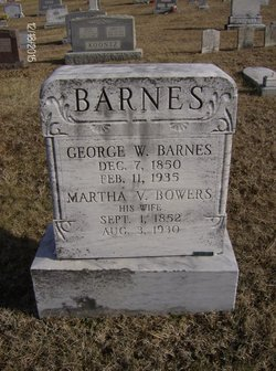 Martha V. <i>Bowers</i> Barnes