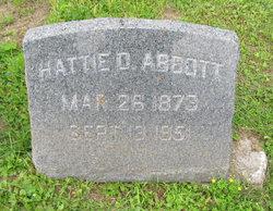 Hattie D Abbott