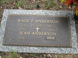 Jean R. <i>Rutherford</i> Anderson