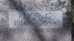Alice Geritrude <i>Foley</i> Vondrasek