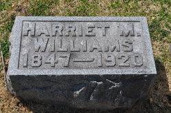 Harriet M Williams