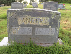 Betty <i>Arms</i> Anders