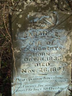 Sarah E. <i>Throneberry</i> Roberts