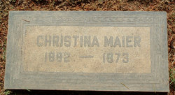 Christina <i>Maier</i> Maier