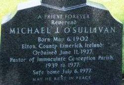 Rev Michael J O'Sullivan