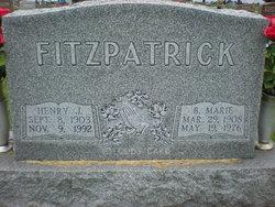 B. Marie <i>Sturm</i> Fitzpatrick