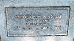 Harold Edwin Adams