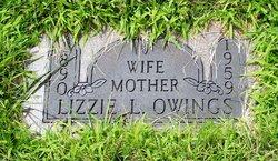 Lizzie L <i>Wilson</i> Owings
