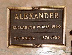 Elizabeth <i>Wagner</i> Alexander