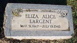 Eliza Alice <i>Massey</i> Largent