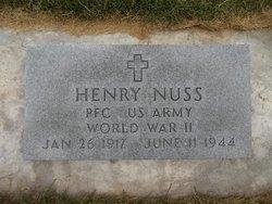PFC Henry Nuss